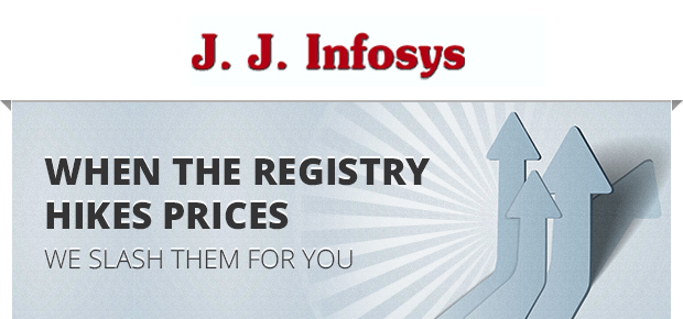 Important: Domain Registry Price Hike and Slash